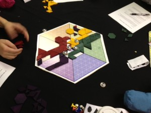 Playtesting N^ at ProtoSpiel Milwaukee
