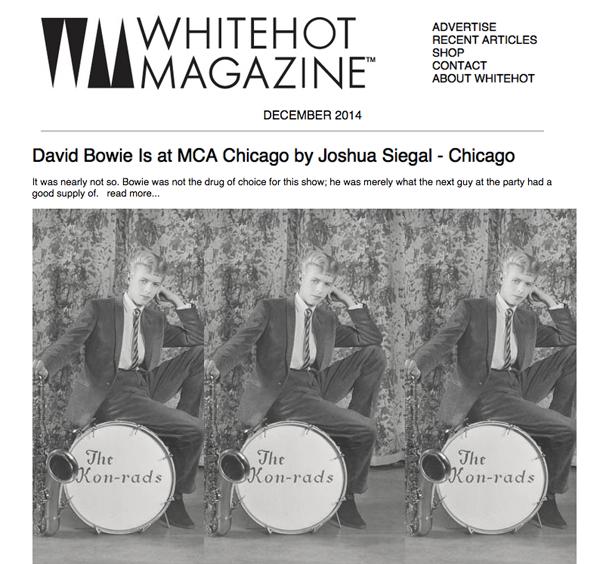 Whitehot Magazine feature